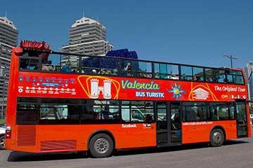 Bus Turístico + Paseo en barca Valencia